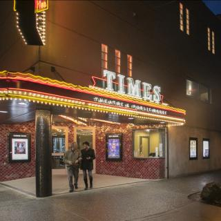 The Historic Times Theatre on Broadway near the Turnaround in Seaside