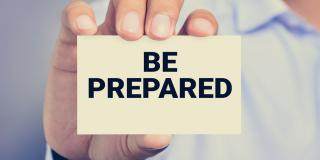Have a kit ready to grab and go. Visit Ready.gov to learn how to prepare for any emergency.