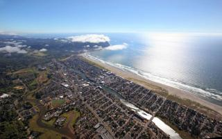 Seaside From Above
