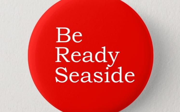 BE READY button
